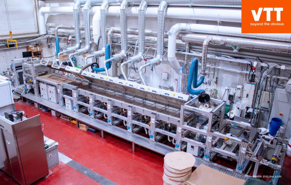 VTT SutCo -surface treatment pilot line